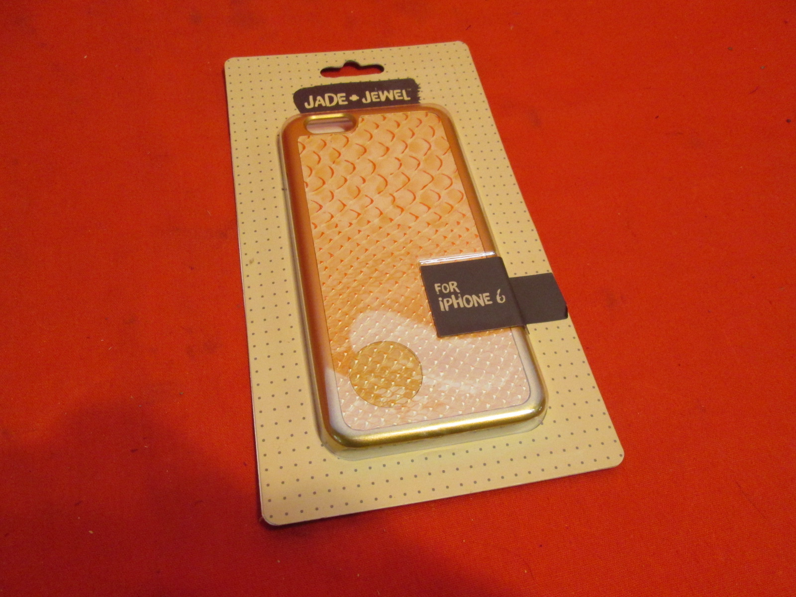 Jade & Jewel Phone Case For iPhone 6 Cover Gold Fitted CO8188