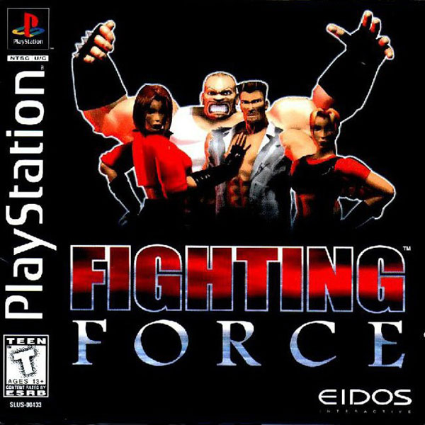 Image 0 of Fighting Force For PlayStation 1 PS1