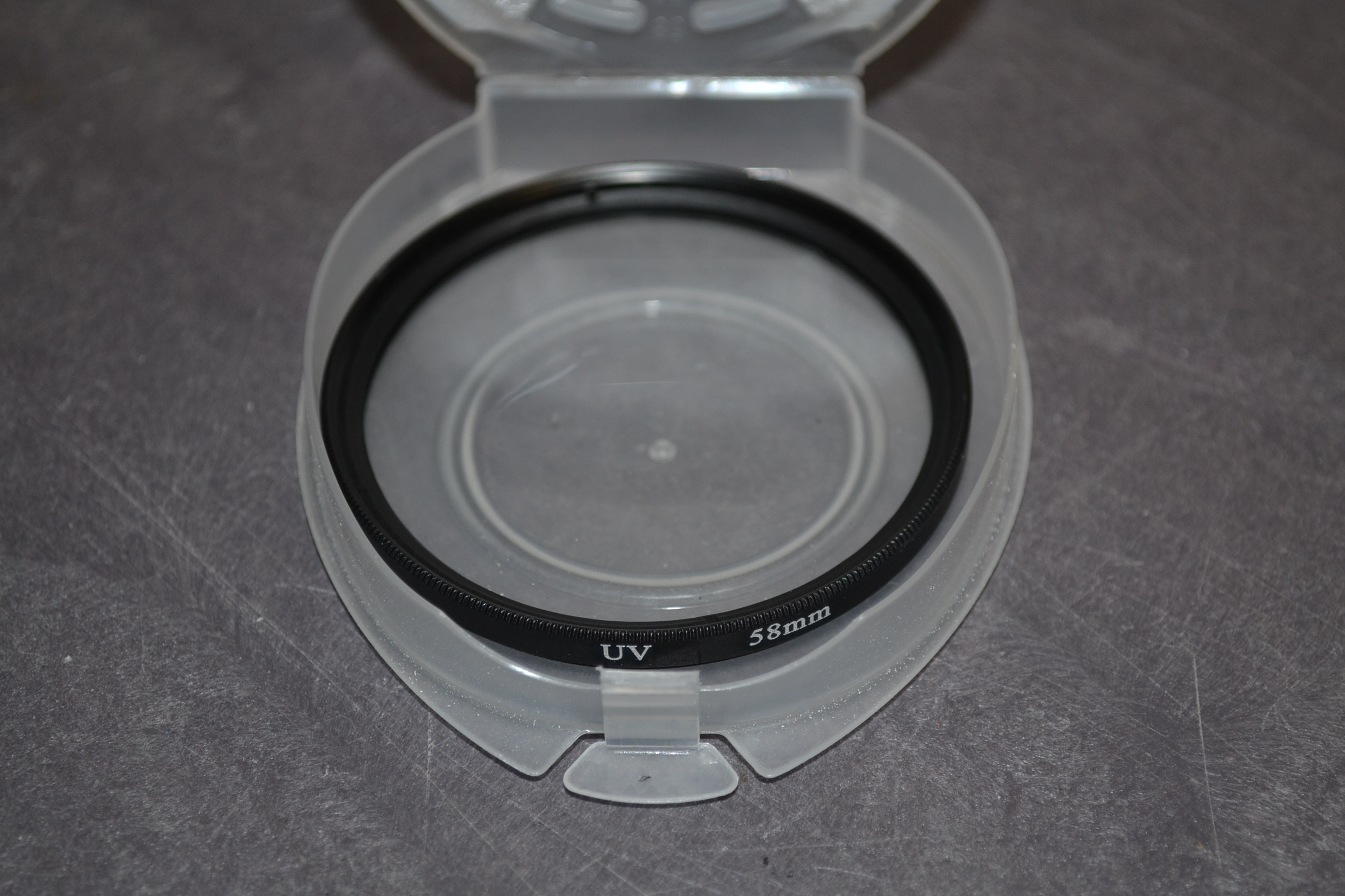 Genuine Eigertec Glass UV Filter 58MM 58 MM Top Quality