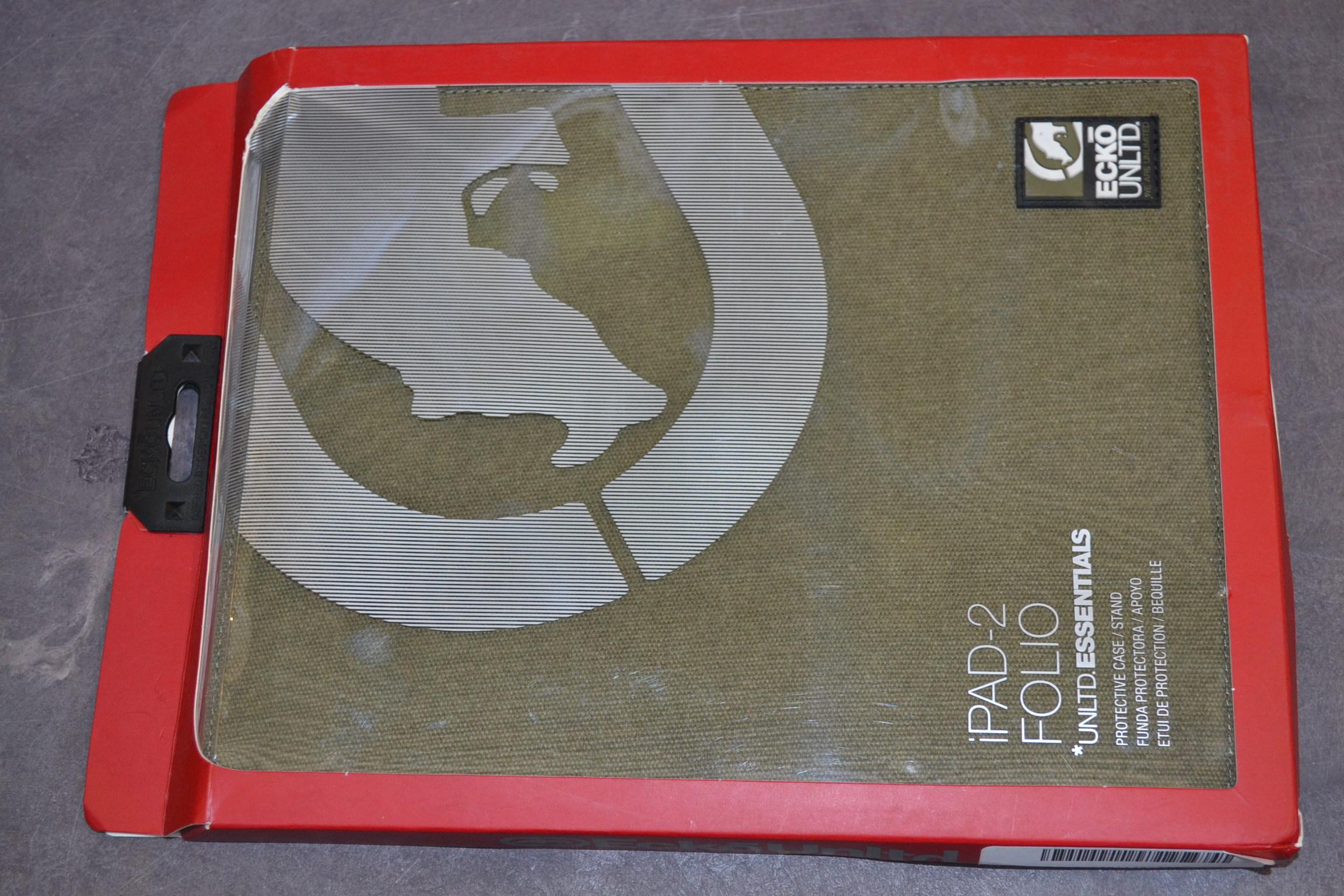 Ecko iPad 2 Canvas Case Green EKUCNVS2GRN