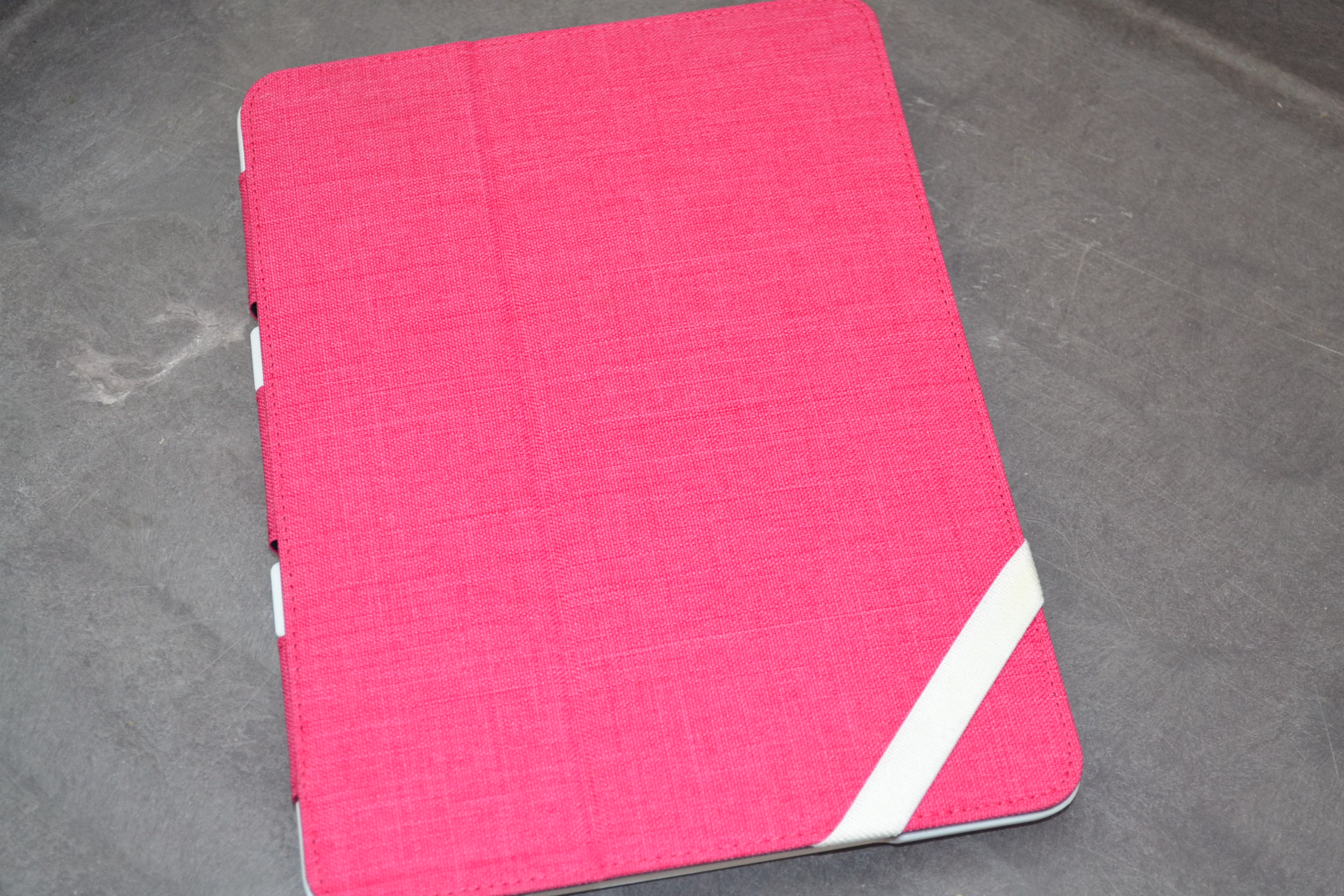 Case Logic Snap View Folio For Galaxy Tab 3 Phlox FSG-1073 Cover Pink White Fold